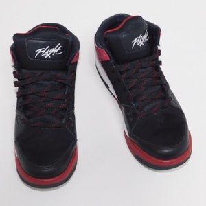 Nike Jordan Flight Boy's Sneakers 6.5Y Red & Black
